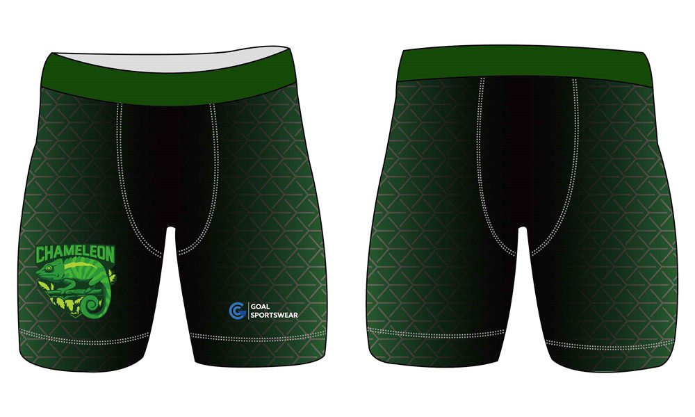 Quick dry sublimation custom youth compression shorts