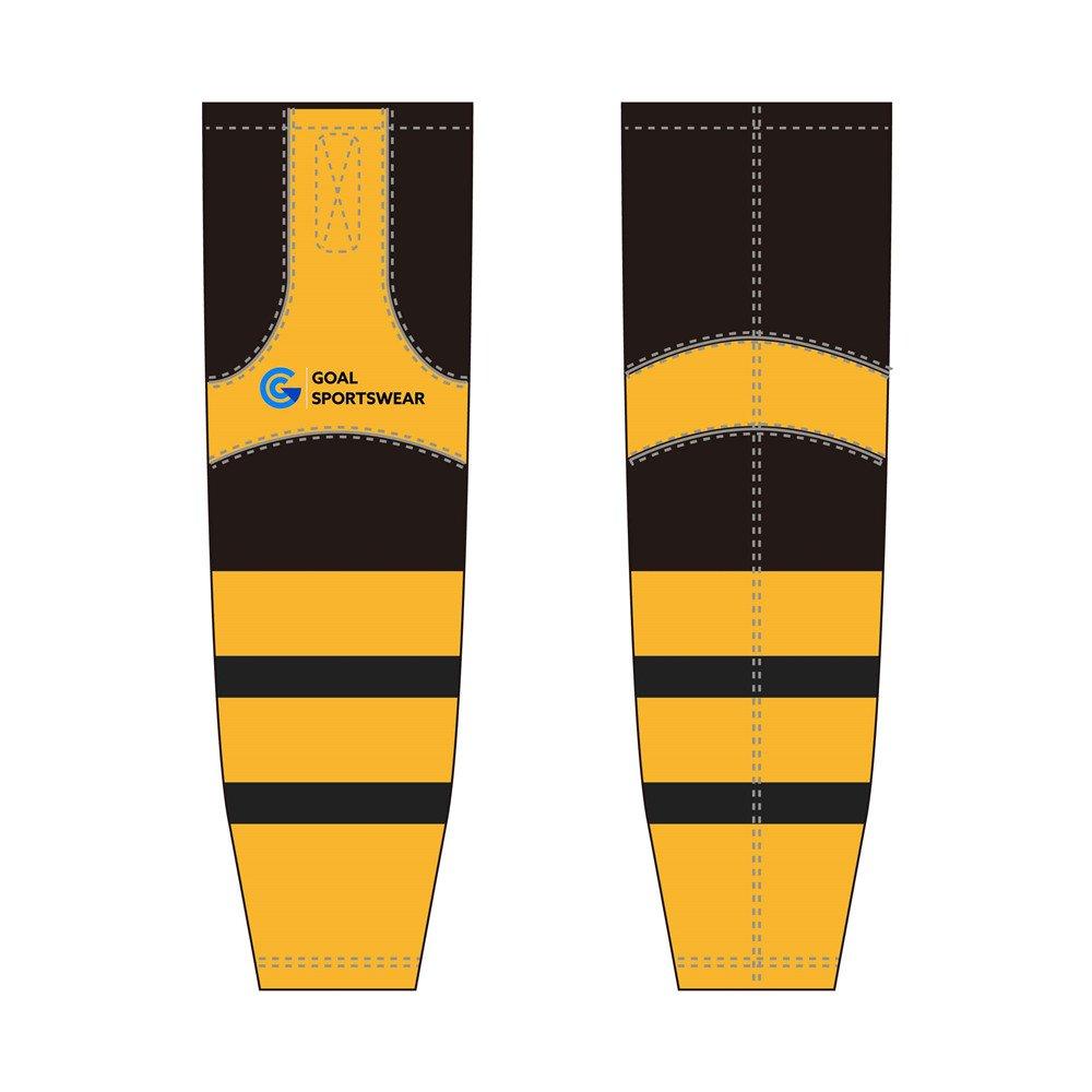 Wholesale Custom made sublimated printing hockey socks