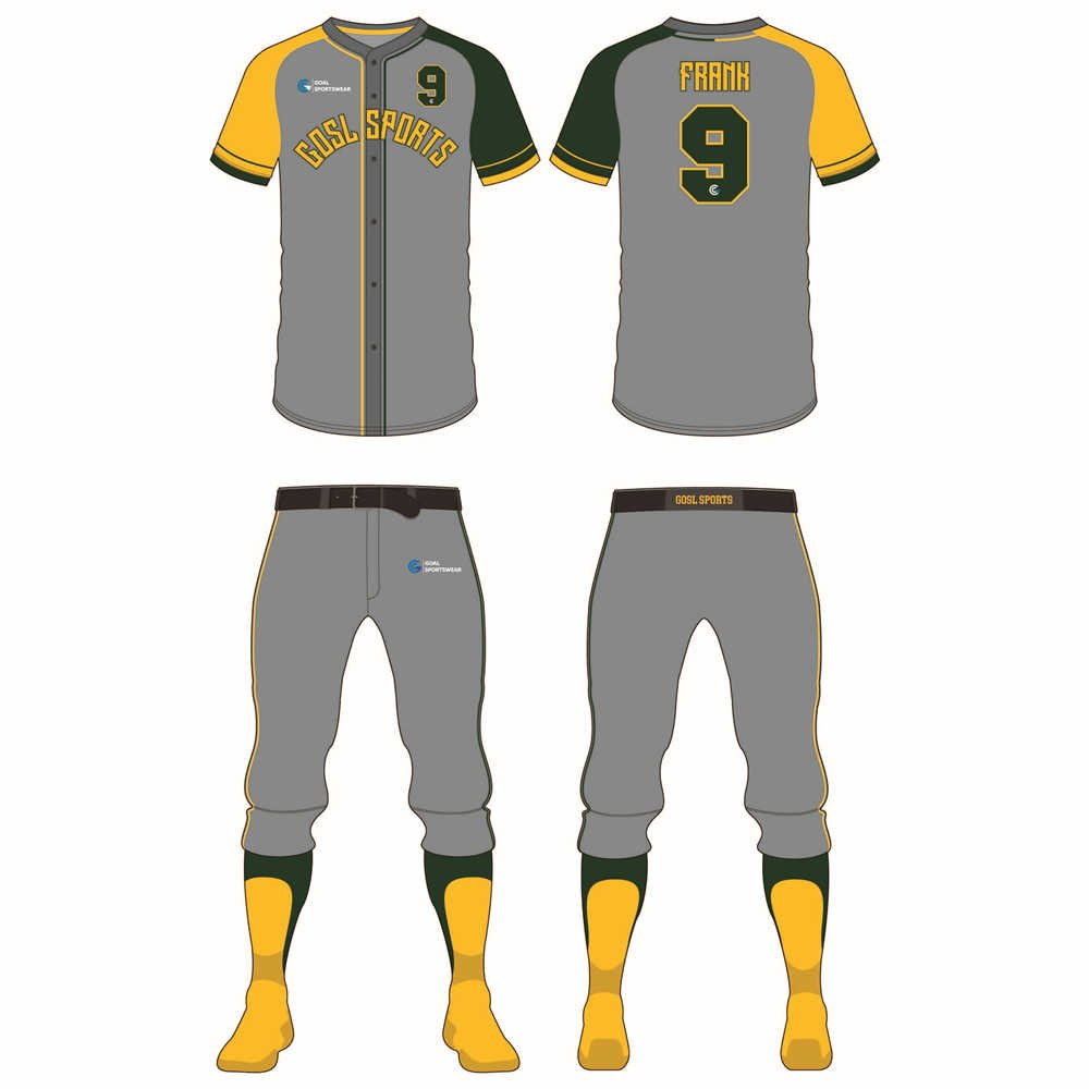 Wholesale high quality sublimation custom team slow pitch softball jerseys
