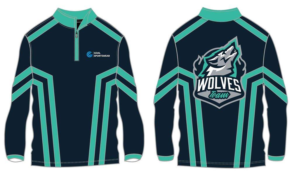 Wholesale high quality sublimation custom team wrestling jackets