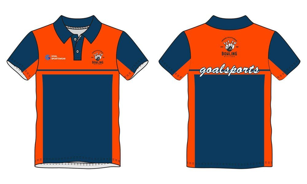 Wholesale high quality sublimation printing custom bowling jerseys