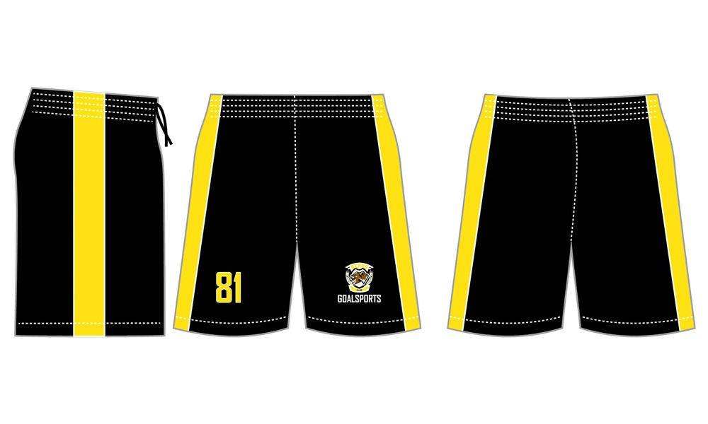 Wholesale high quality sublimation printing custom lacrosse shorts