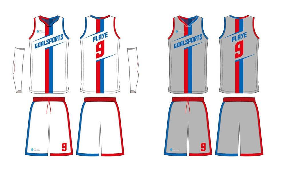 Wholesale high quality sublimation printing custom reversible basketball jerseys