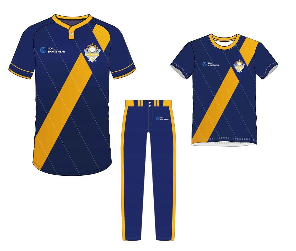 Wholesale pro quality custom design sublimated kids baseball uniform packages