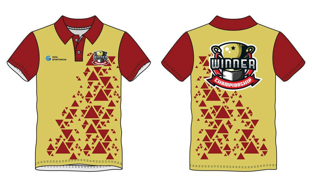 Wholesale pro quality custom design sublimated kids bowling jerseys