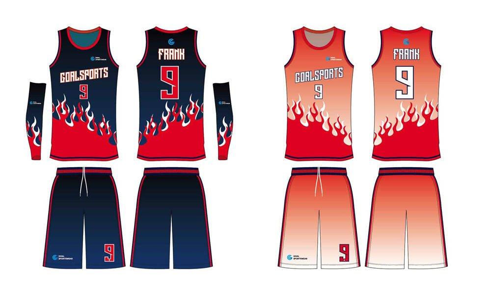 Wholesale pro quality custom design sublimated kids reversible basketball jerseys
