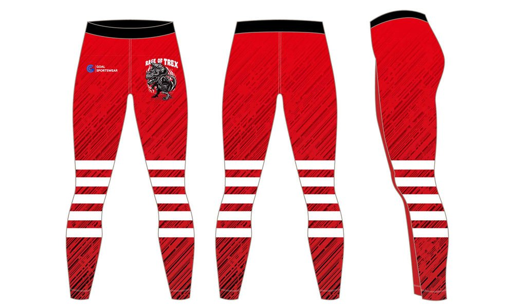 Wholesale pro spandex custom sublimated team compression pants