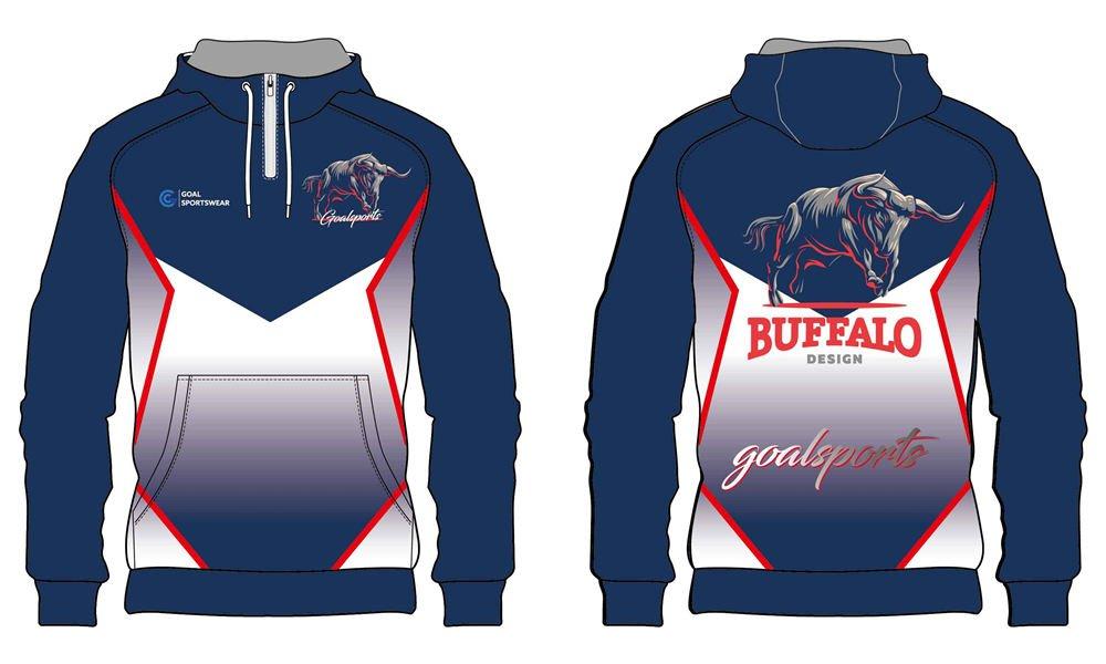 custom fleece 1_4 zipper hoodies