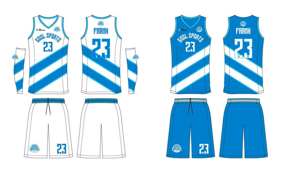 wholesale China custom design sublimation printing reversible basketball jerseys