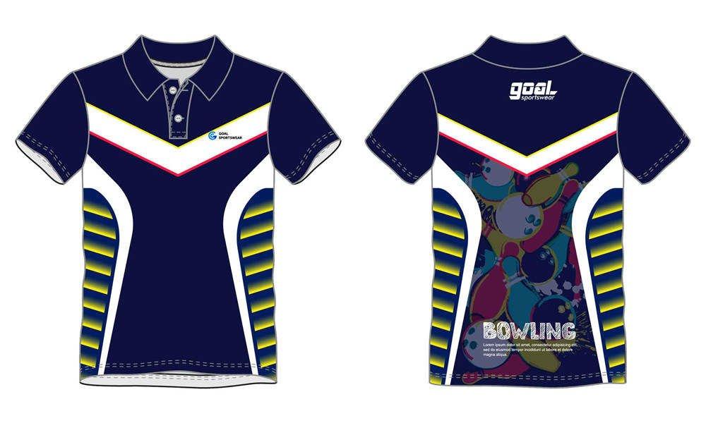 wholesale high qualtiy mens custom made bowling jerseys