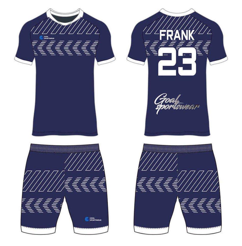 100% polyester sublimation custom printed custom soccer kits