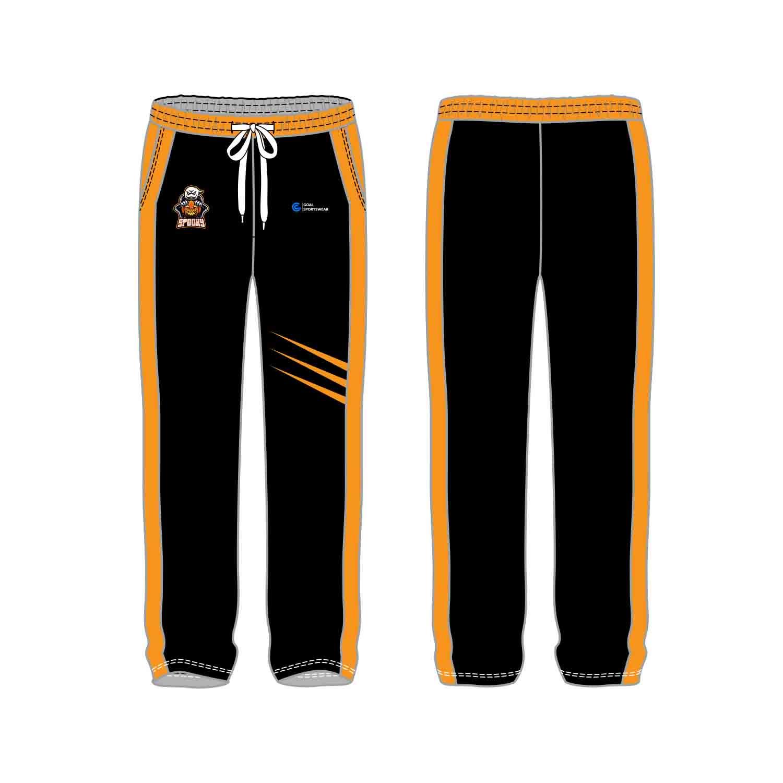 100% polyester sublimation custom printed custom soccer pants