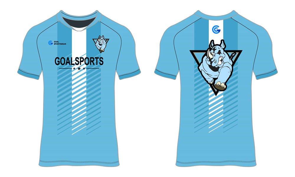 100% polyester sublimation custom printed custom soccer tops