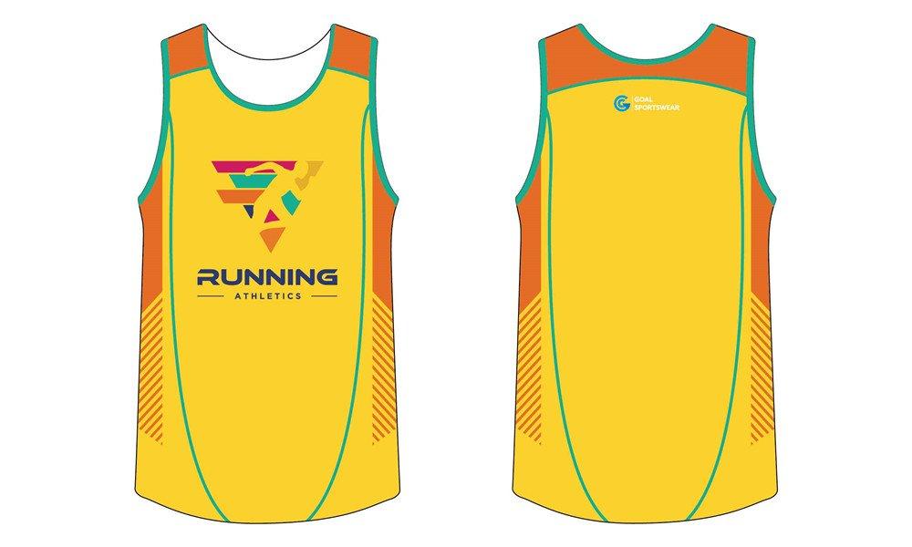 100% polyester sublimation custom printed sublimated running shirts