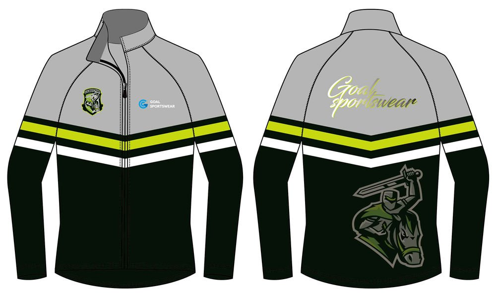 100% polyester sublimation mens custom Football Team Jackets