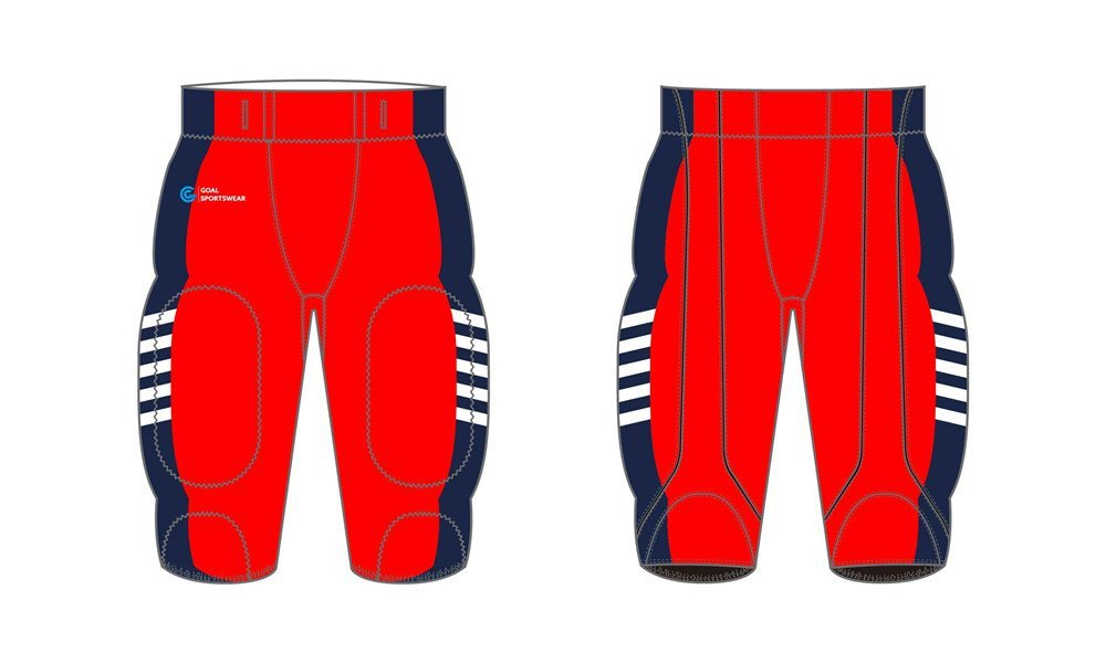 100% polyester sublimation mens custom Sublimated Football Pants
