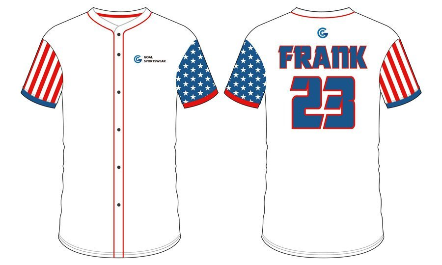 100% polyester sublimation mens custom custom kids baseball jersey