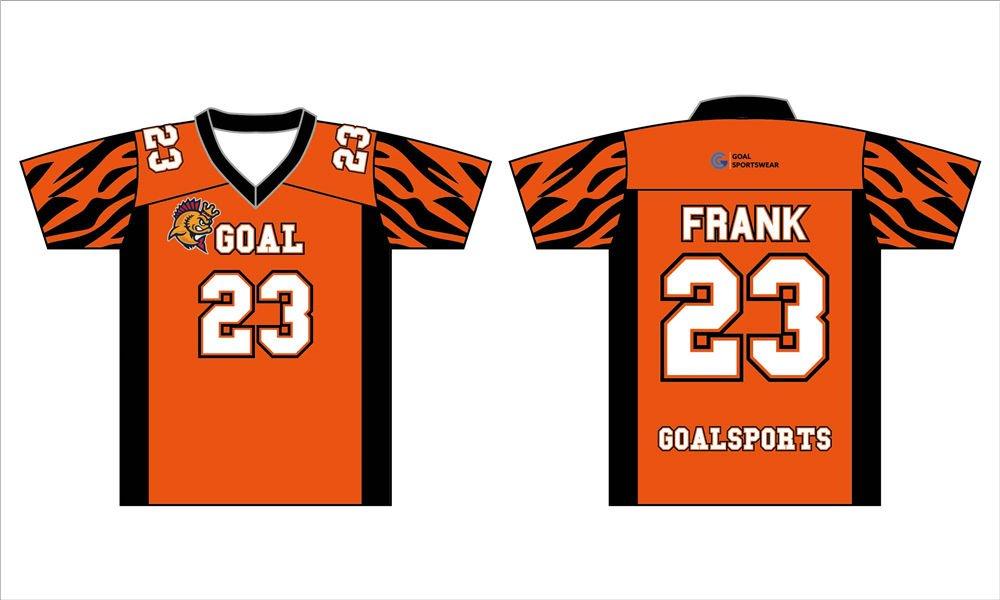 100% polyester sublimation mens custom custom lacrosse shirts