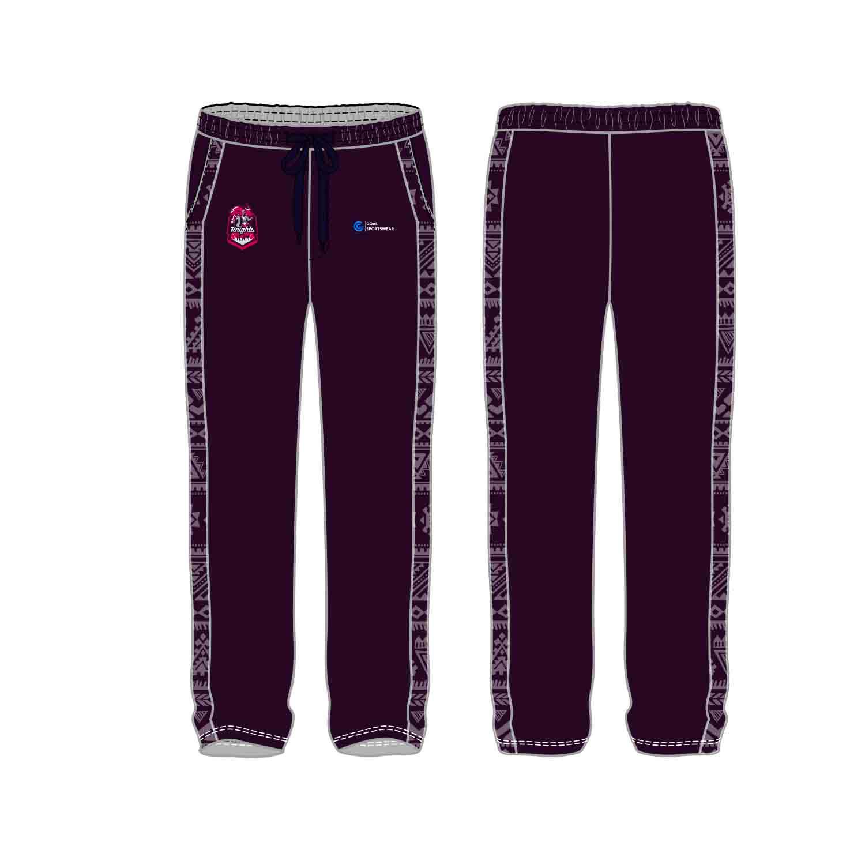 100% polyester sublimation mens custom custom soccer pants