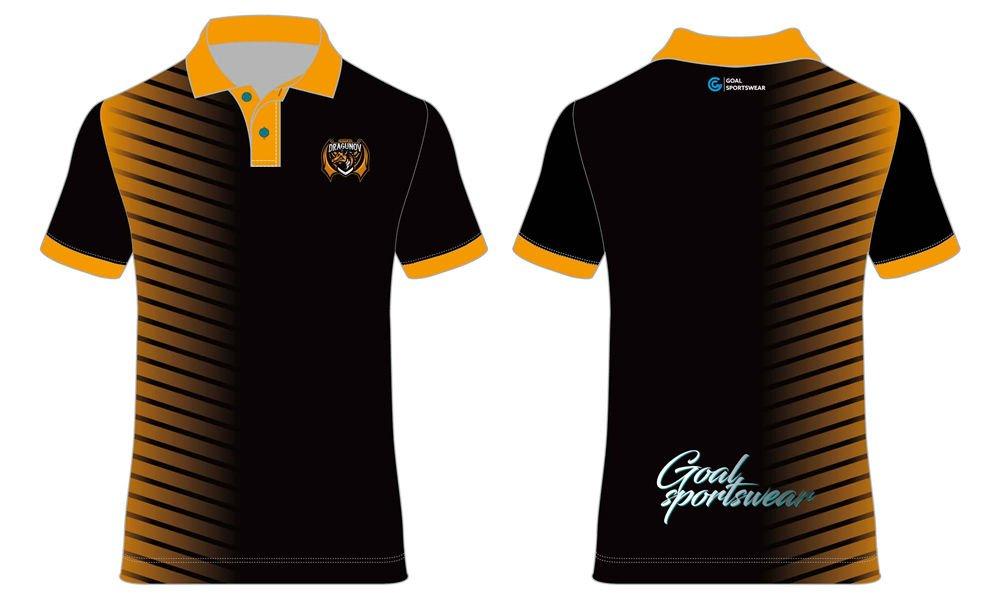 100% polyester sublimation mens custom darts polo shirts