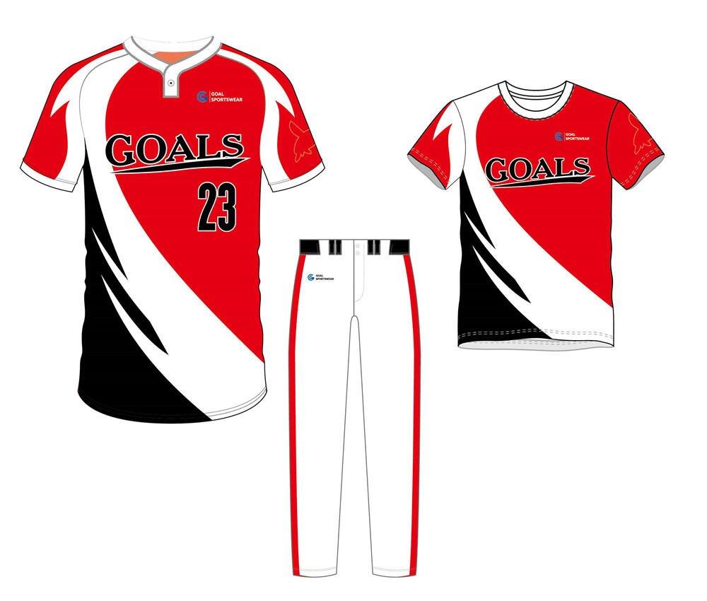 100% polyester sublimation printing custom youth team Custom Fastpitch Softball Uniform