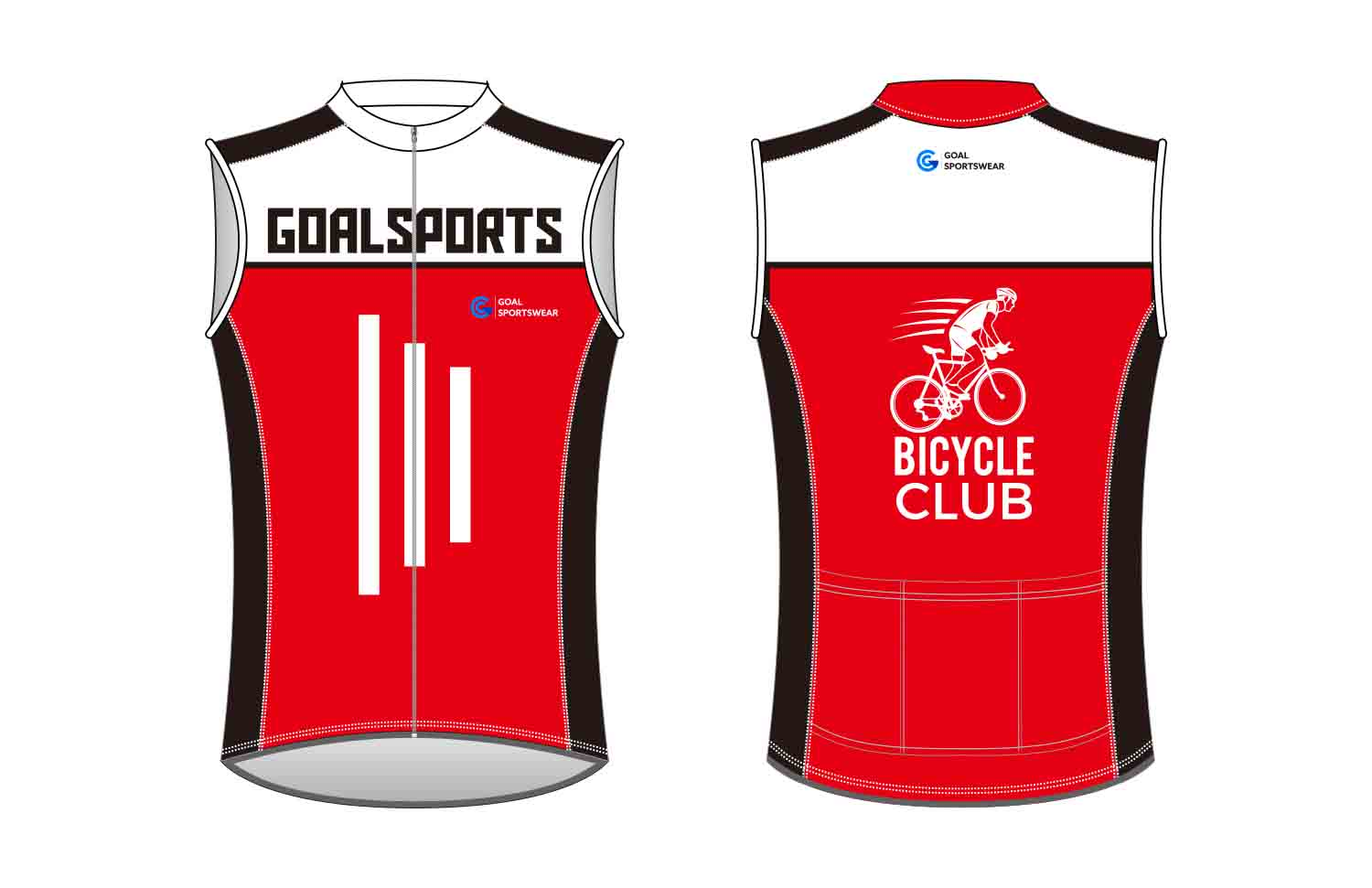 100% polyester sublimation printing custom youth team custom Cycling Vest