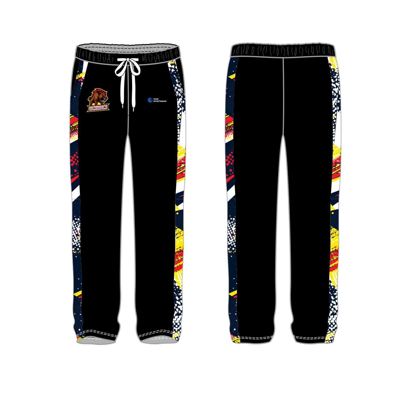 100% polyester sublimation printing custom youth team custom soccer-pants