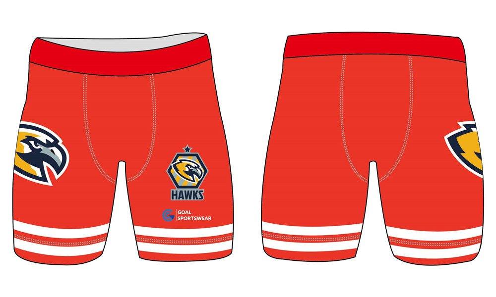 100% polyester sublimation printing custom youth team custom spandex shorts