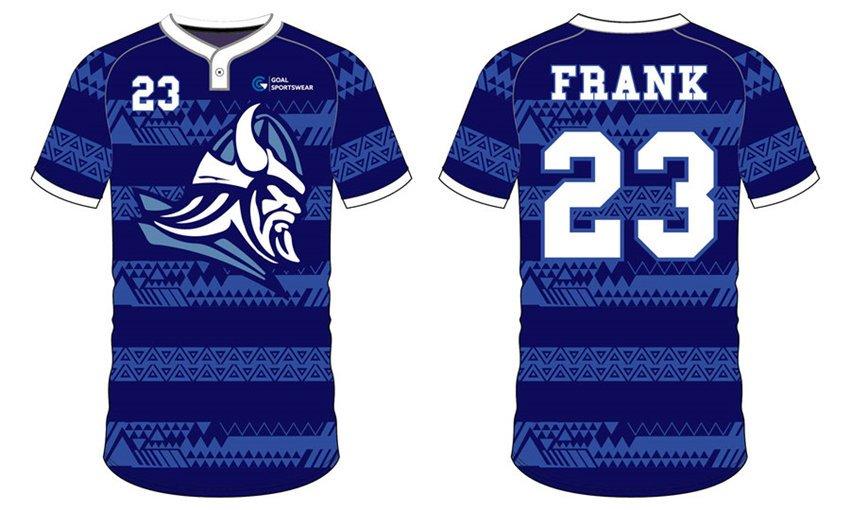 100% polyester sublimation printing custom youth team Custom baseball team shirts