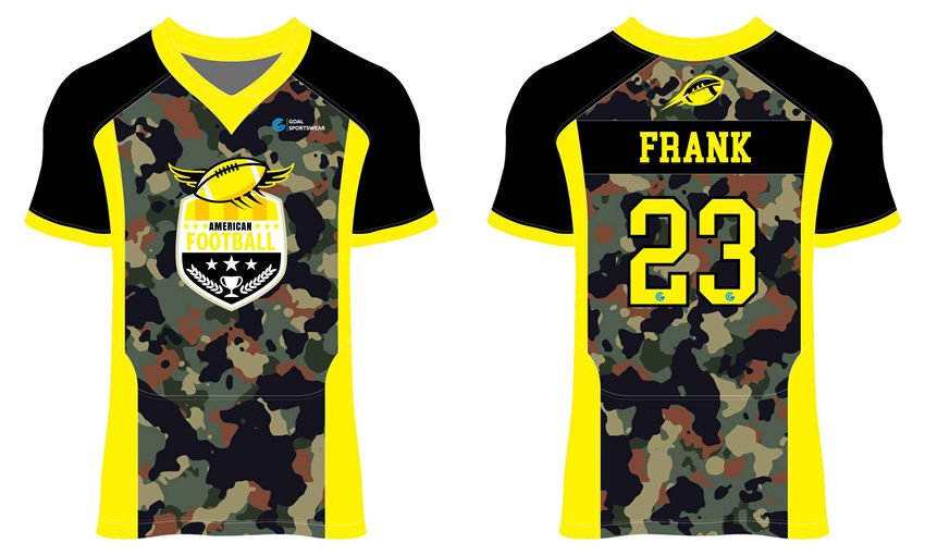 Wholesale pro quality custom design sublimated youth football jerseys