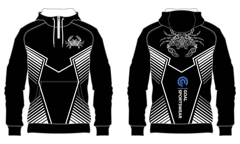 Custom design sublimation printing breathable reversible custom Soccer Hoodies