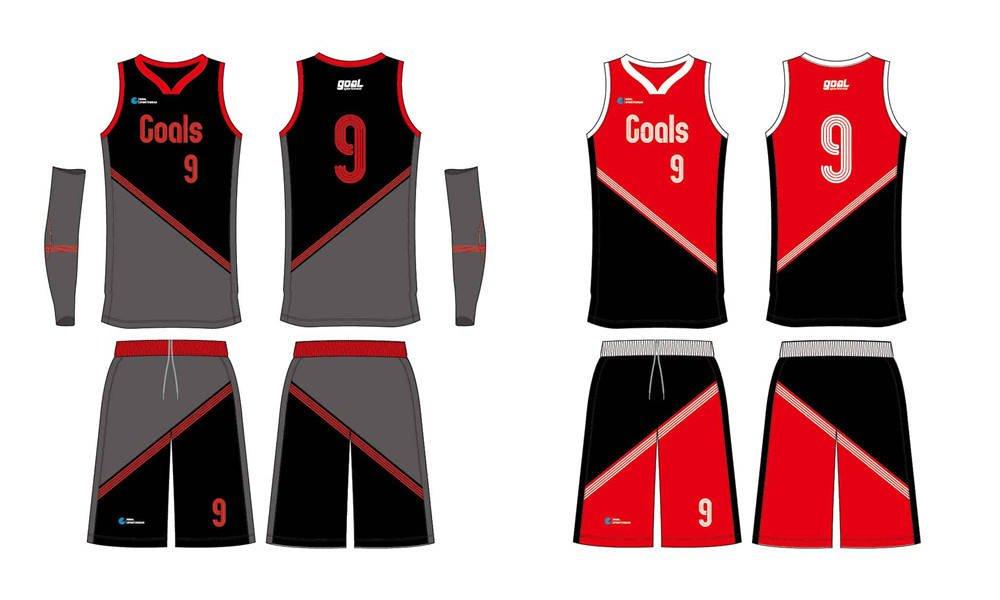 Custom design sublimation printing breathable reversible custom basketball singlets