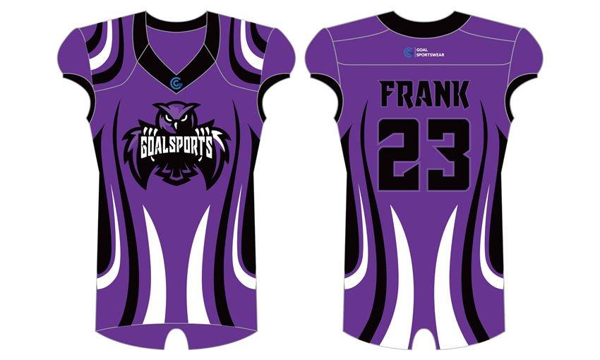 Custom design sublimation printing breathable reversible custom football uniforms