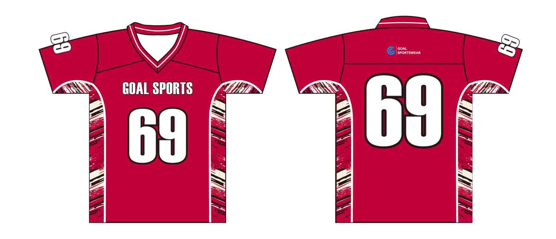 Custom design sublimation printing breathable reversible custom lacrosse shirts