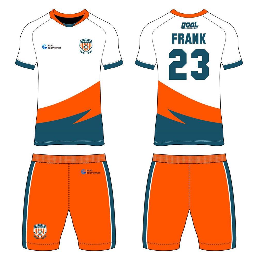 Custom design sublimation printing breathable reversible custom soccer kits