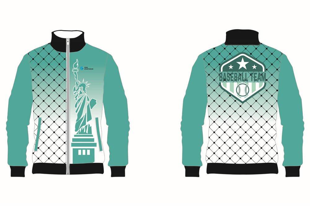 Custom made sublimated printing short sleeve Football Team Jackets
