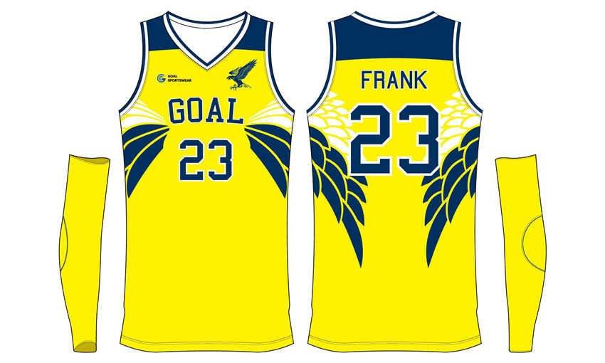 Custom made sublimated printing short sleeve Youth Basketball Uniforms