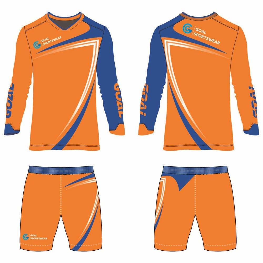 Custom made sublimated printing short sleeve custom soccer kits