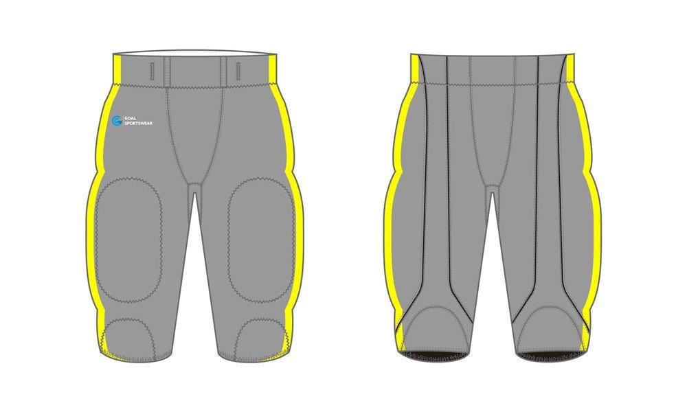 Custom made sublimation printing mens pro Sublimated Football Pants