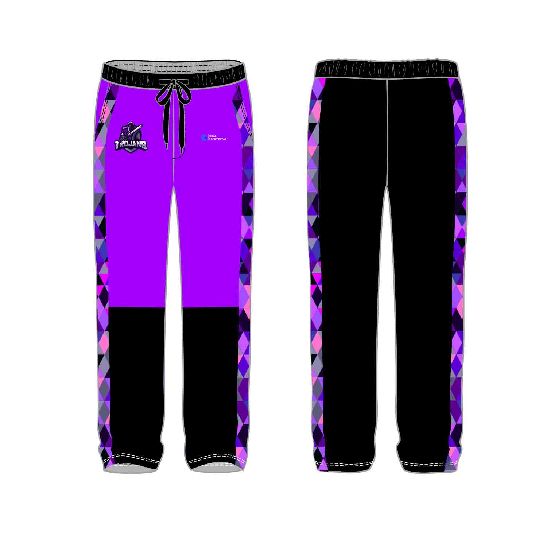 Custom made sublimation printing mens pro custom soccer pants