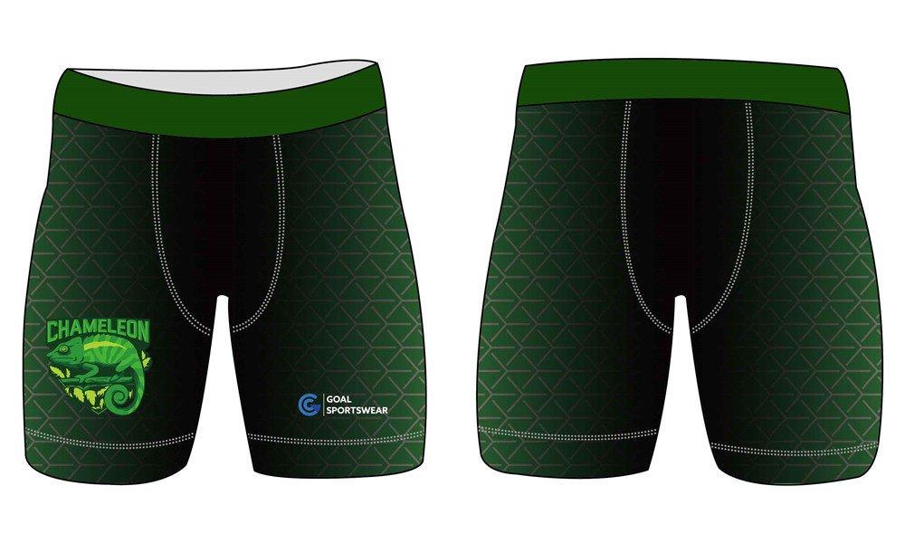 Custom made sublimation printing mens pro custom spandex shorts