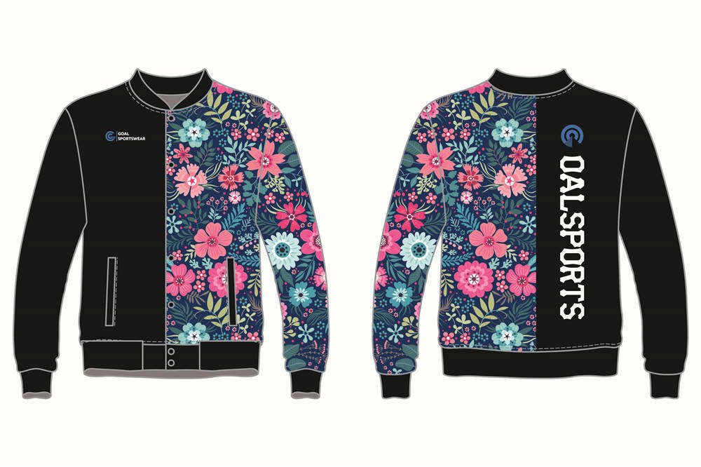Custom wholesale sublimated printed Custom Baseball jackets
