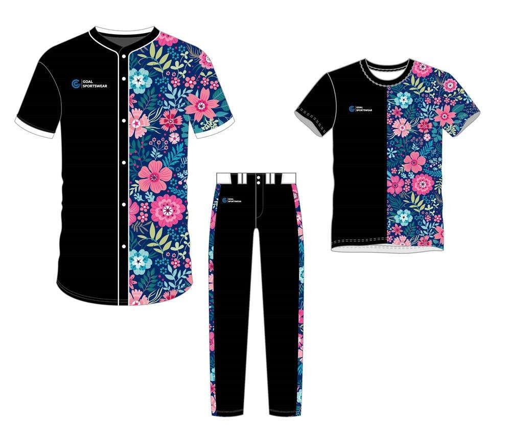 Custom wholesale sublimated printed Custom Fastpitch Softball Uniform