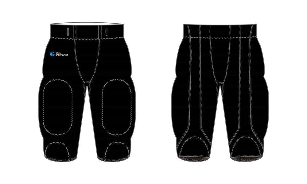 Custom wholesale sublimated printed Sublimated Football Pants