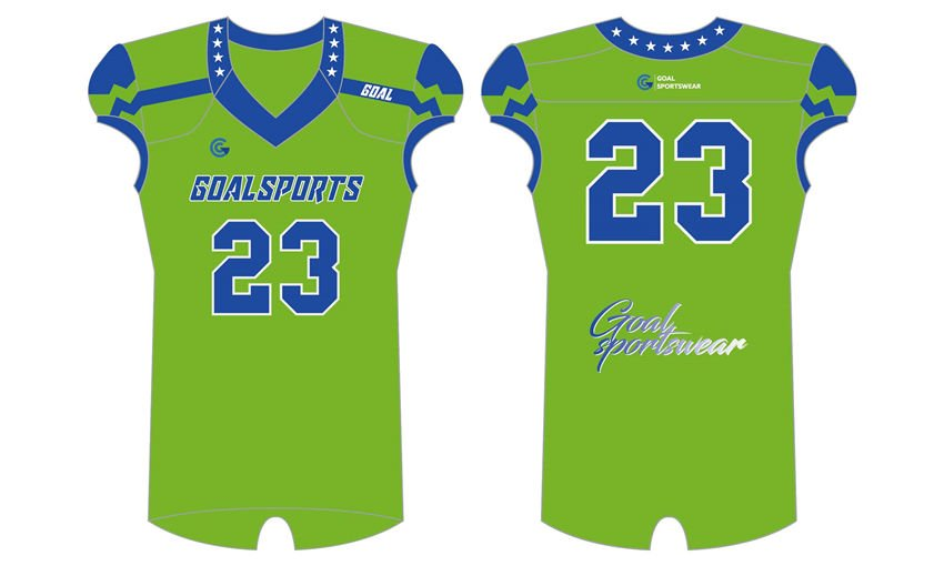 Custom wholesale sublimated printed custom college football jersey