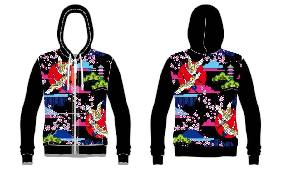 Custom wholesale sublimated printed custom lacrosse hoodies