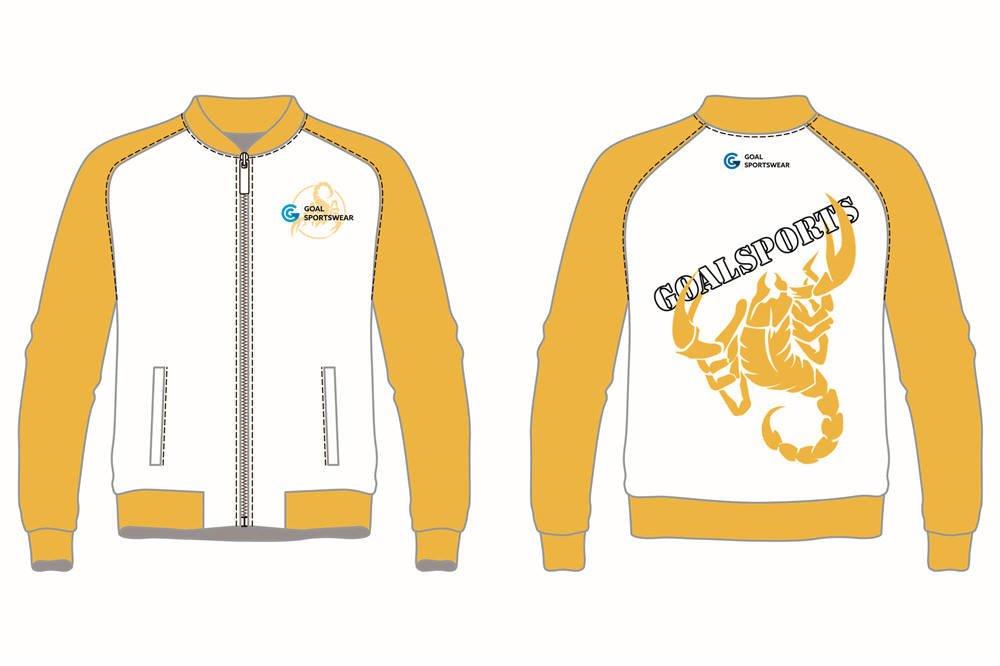 Dye sublimation custom design team Custom Baseball jackets