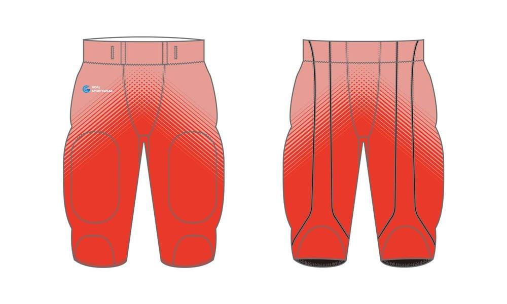 Dye sublimation custom design team Sublimated Football Pants