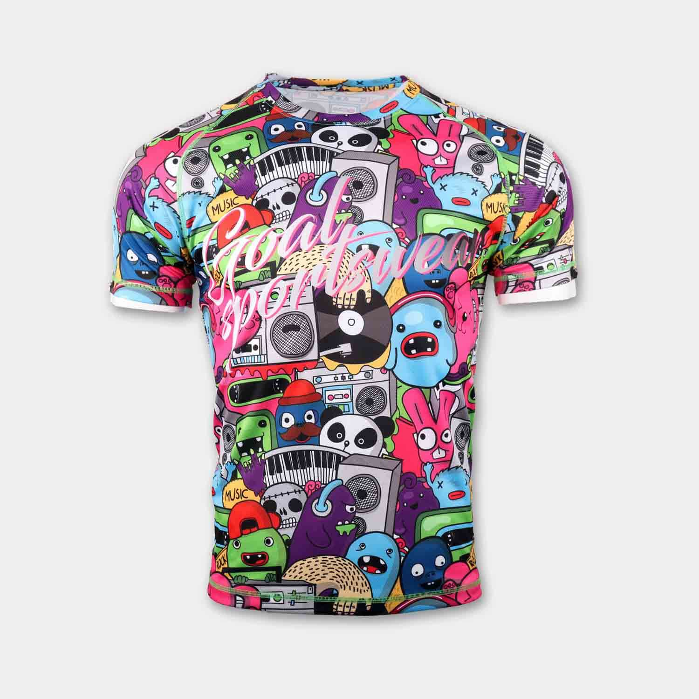Dye sublimation custom design team basketball shooting shirts