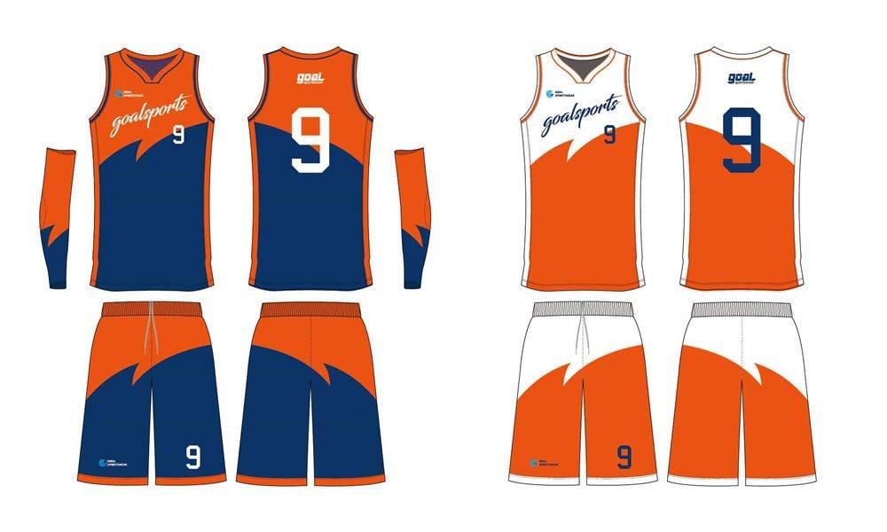 Dye sublimation custom design team custom basketball singlets